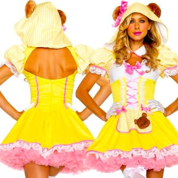 Beary Cute Goldilocks Leg Avenue Costume